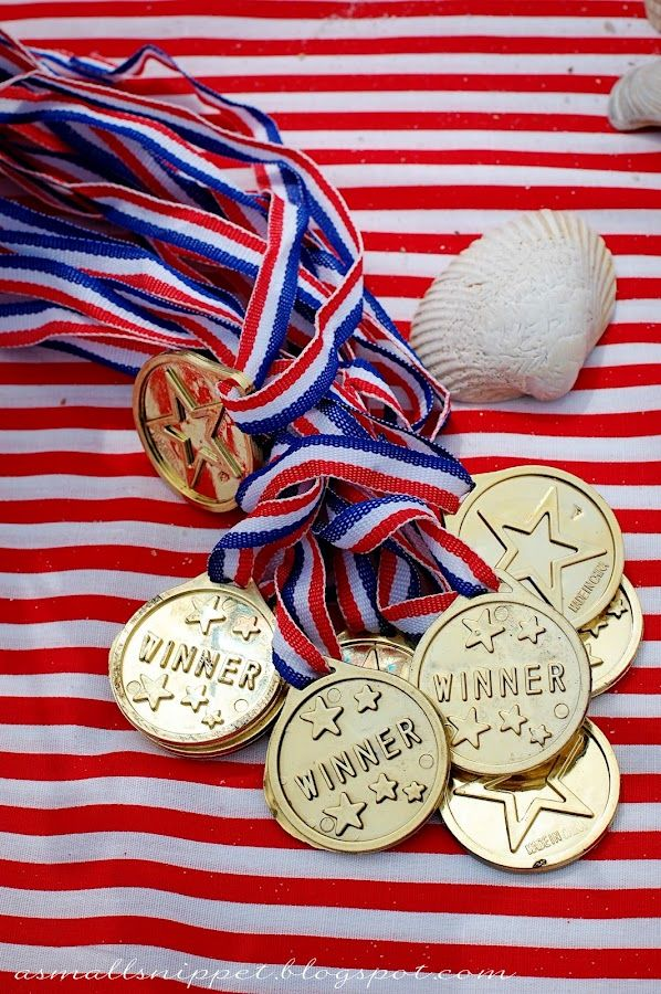 A Small Snippet: Olympics Party--so many great ideas for a olympic bday party!