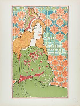 Louis John Rhead  (1857 - 1926) : Jane.  - Asta Manoscritti, Libri, Autografi, Stampe & Disegni - Libreria Antiquaria Gonnelli - Gonnelli Casa d'Aste