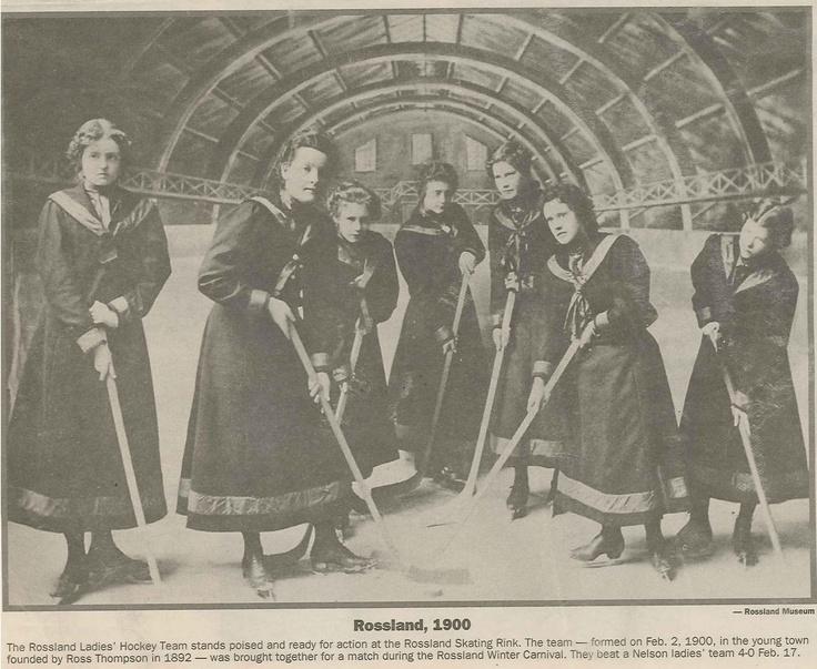 Rossland Carnival, Women's hockey
