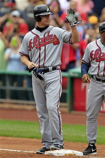 Atlanta Braves - Chipper Jones   Who else misses Chipper out on the field?