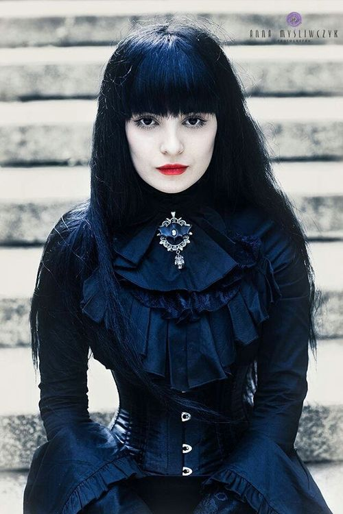Gothic Fashion https://www.facebook.com/DesdemonaDeVille?fref=ts  goth gothic style fashion girl women https://www.facebook.com/alternativestylepolska