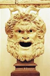 mascara de teatro griego - Buscar con Google