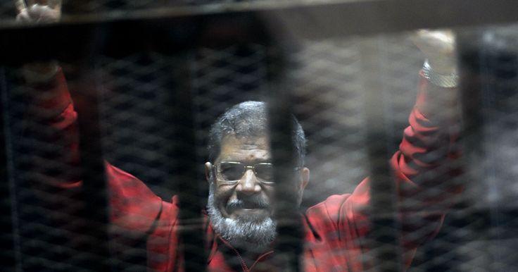 Egyptian court sentences Mohammed Morsi to 25 years in prison