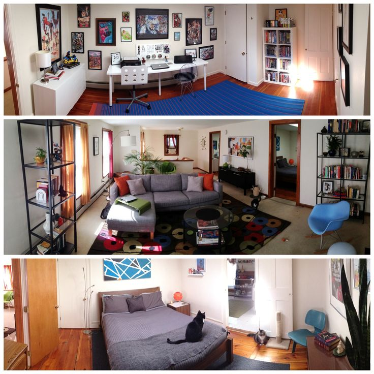 Comic Book Room/office. Living Room. And Bedroom. Part 33