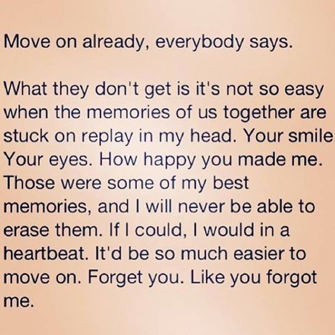 How To Move On Fast From A Break Up