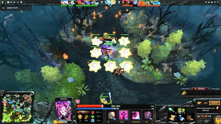 Dota2 Live Stream - Radiant Vs Dire (24.09.2015)