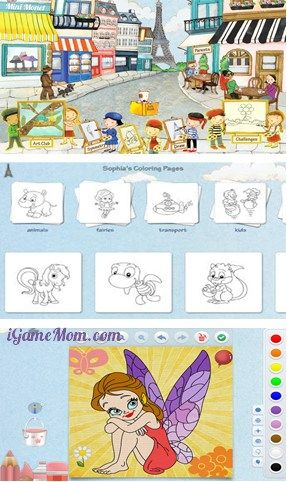 creative art app for kids of all ages - with many creative options #kidsapps #ArtApps