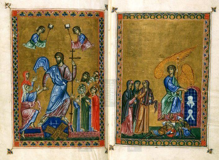 Первые свидетели Христова Воскресения. Иконография