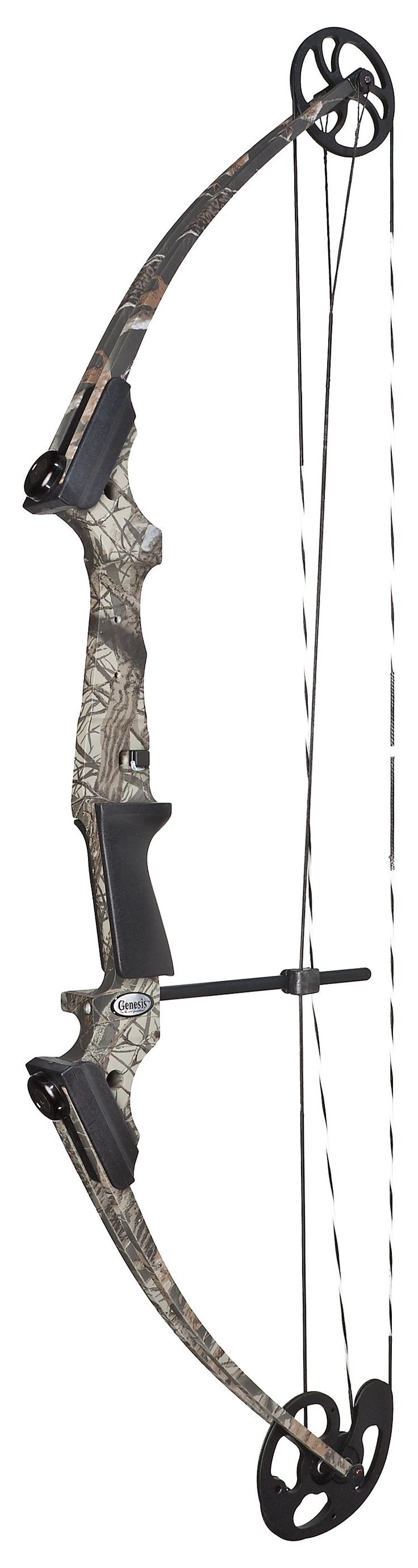 Genesis compound bow!!! This and some arrows! Don't want it in pink!!! Either TURQUOISE or camo!