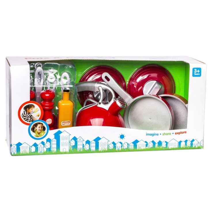 Pots and Pans Set | Kmart x2 for cubby and us