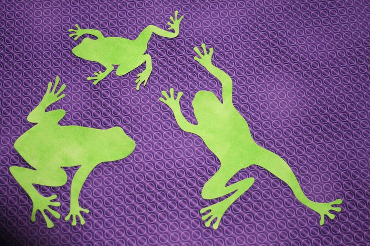 Fab Shapes Frogs