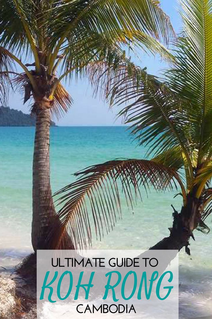 Koh Rong is the tropical paradise of Cambodia! It's beautiful beaches are a must-see. Check out this guide for all the insider info!