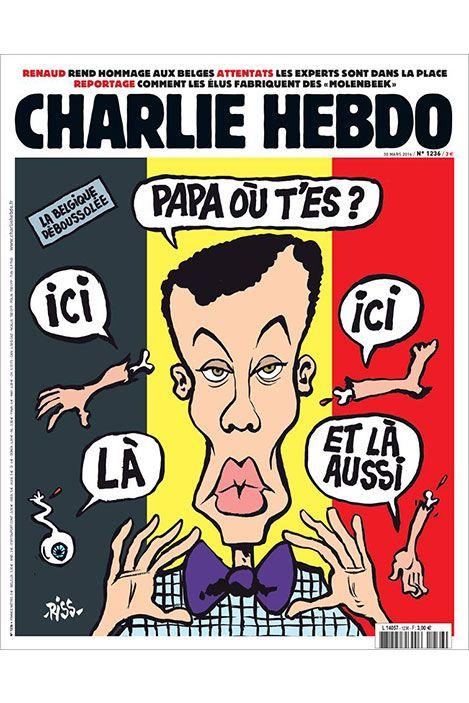 La une de «Charlie Hebdo» avec Stromae