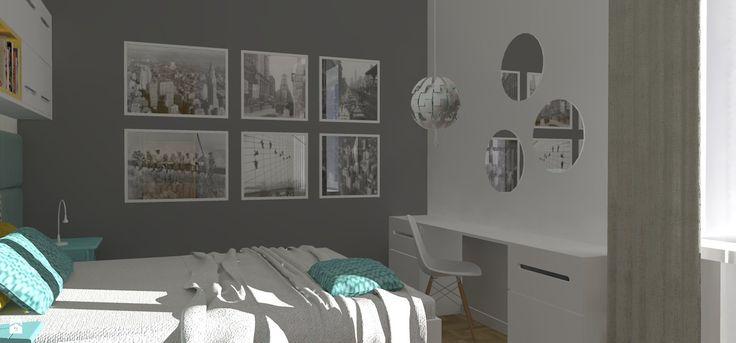 Sypialnia styl Nowoczesny - zdjęcie od BLOKprojekt - Sypialnia - Styl Nowoczesny - BLOKprojekt