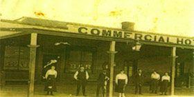 The original Commercial Hotel established 1864, first licensed hotel in Adelong