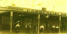 The original Commercial Hotel established 1864, first licensed hotel in Adelong