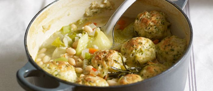 Slow Cooking isn't just for meat, check out these fantastic vegetarian slow cooking recipe for Casserole with Dumplings.