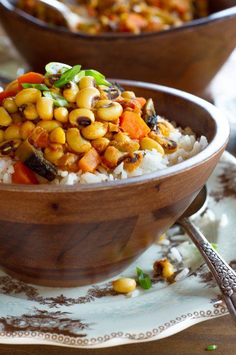 Vegan Hoppin' John Recipe - Smoky, Healthy, Satisfying Meatless Version of a Southern Classic for the New Year, Rosh Hashanah on ToriAvey.com