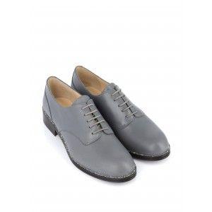 Annette - Chaussures À Lacets Pour Femmes / Gris Jaune Moelleux 0YaR6Q