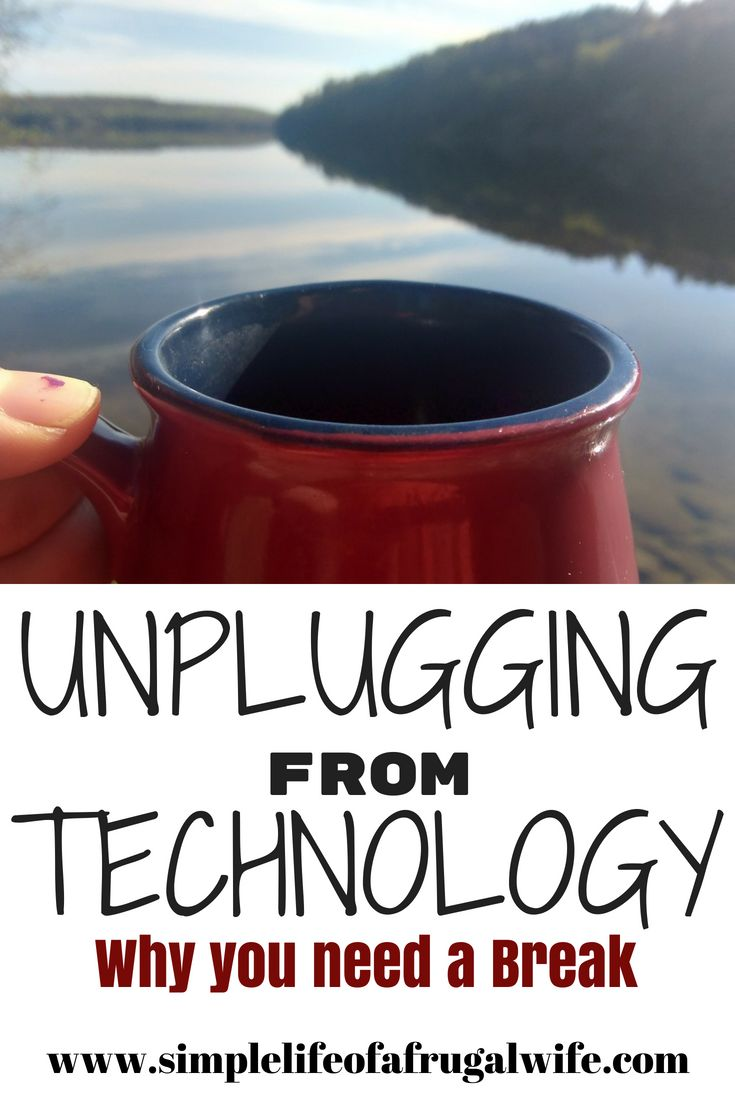 Unplugging from technology can help you de-stress and rest.  Read this article to find out how you can unplug from technology for a short time to quiet the chaos.