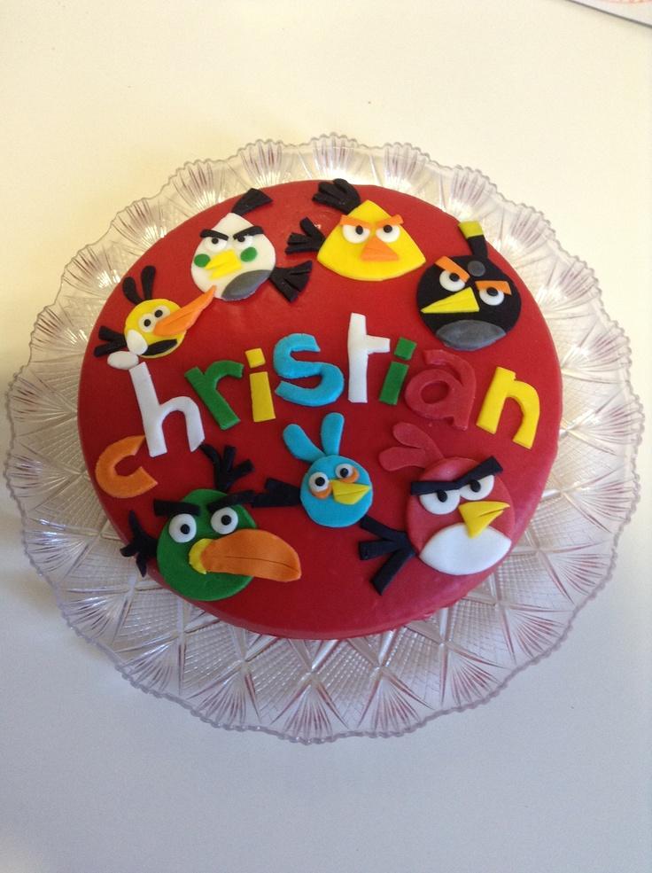 Angrybird cake,Christian 5 years #kidscakes