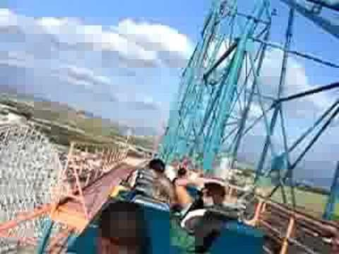 Rollercoaster Six Flag California - YouTube