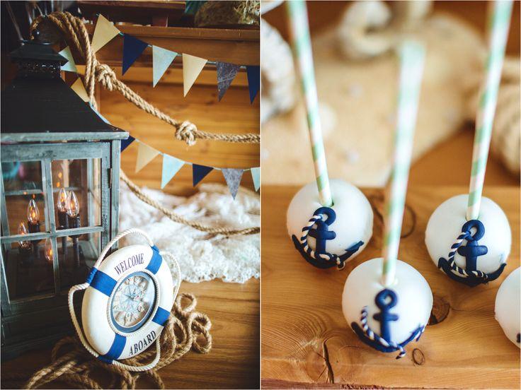 first birthday boy sea party decor candy bar pops  decor by Julia Shteyzel декоратор Юлия Штейзель