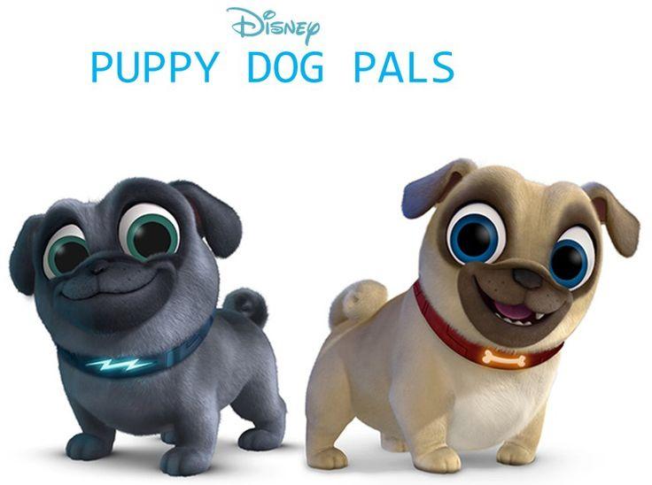Disney S Puppy Dog Pals Art Of Pug
