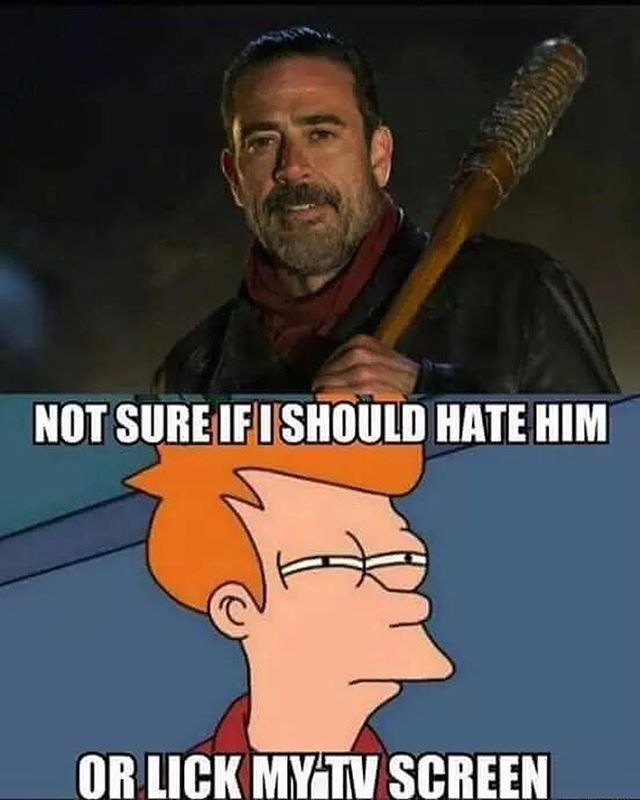 TWD. Love to hate him, hate to love him.                                                                                                                                                                                 Mehr