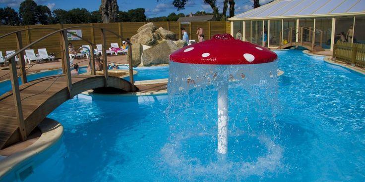 camping vannes 56, bretagne sud, mobil home camping-car piscine couverte