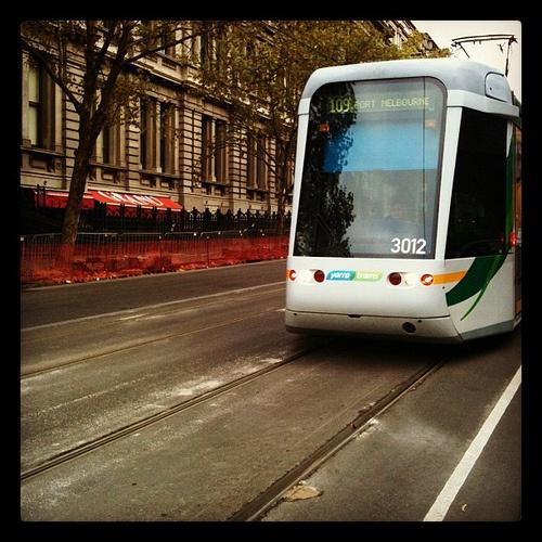 109 Tram - Box Hill to Port Melbourne.