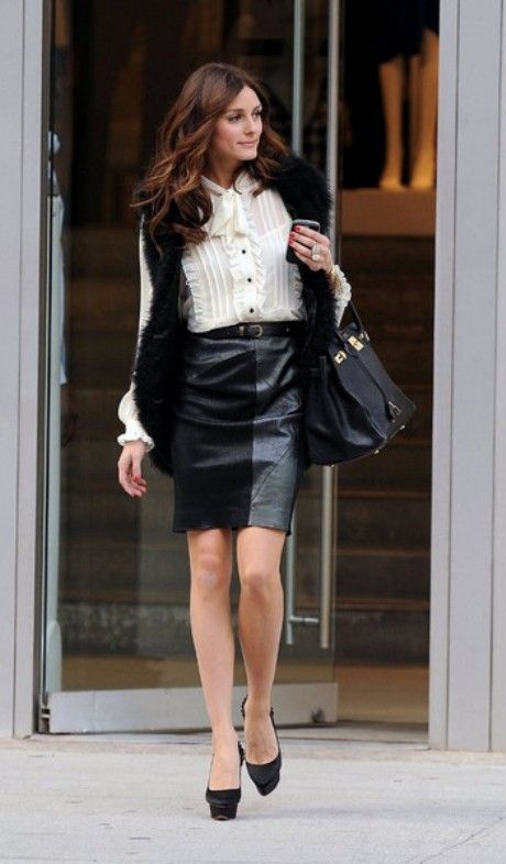 64 best Leather images on Pinterest | Black leather skirts ...