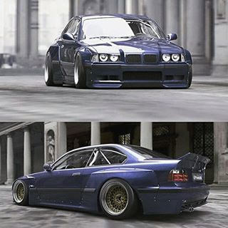 bmw e36 rocket bunny kit - Google zoeken