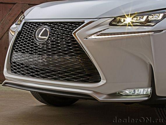 Детали дизайна кроссовера Лексус NX_200t 2015 / Lexus NX 200t 2015
