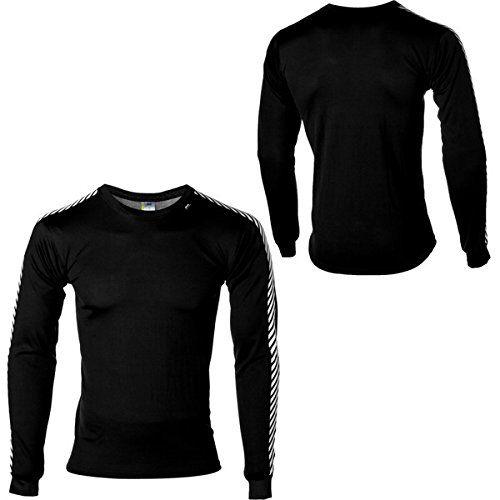 (ヘリーハンセン) Helly Hansen メンズ スノー ウェア Dry Stripe Crew Top 並行輸入品  新品【取り寄せ商品のため、お届けまでに2週間前後かかります。】 カラー:Black カラー:ブラック