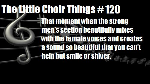 Choir Things
