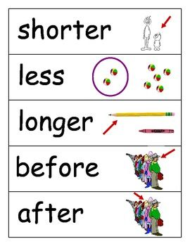 Math Words And Pictures 90