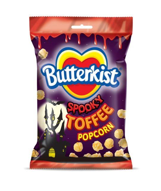 butterkist toffee popcorn halloween packaging - Mms Halloween