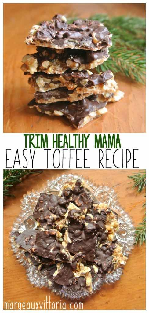 Easy and delicious toffee made with any kind of nut - perfect for Christmas!