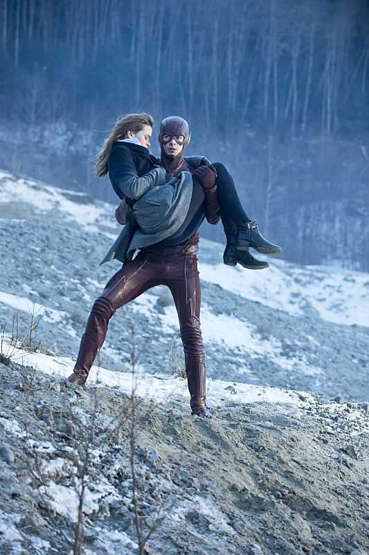 The Flash: The Nuclear Man Preview Photos Released, and Firestorm is (Really) Born | Comicbook.com