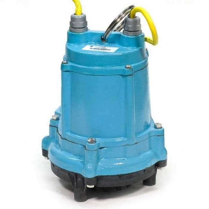 """Little Giant 506600 1-1/2"""" Discharge High-temp Wide Angle Float Switch Sump/effluent Pump, 15"""" Cord, 110v ~ 120v"""