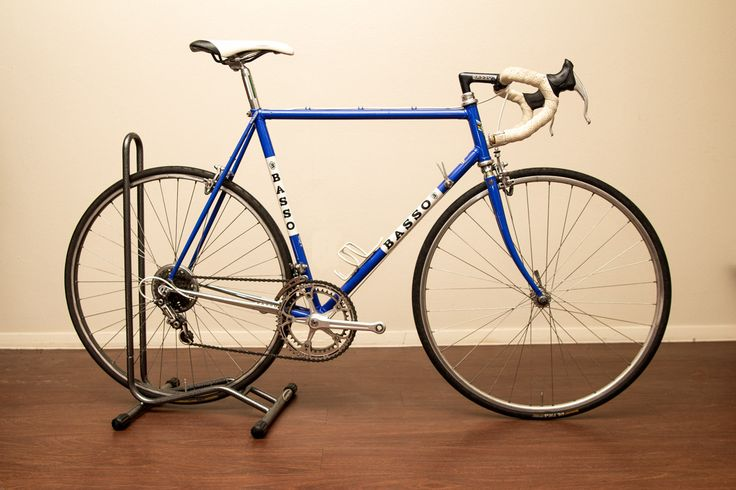 1983 Basso Gap $975.00 http://www.reqwip.com/product/54fcc7149f0a920c00677267/ Subcategory: road Size: 56 Manufacturer: basso Condition: good Description: 1983 Basso road bike with full Campagnolo 30th anniversary pantographed groupset. Downtube friction shifters. Newish fizik tape. Under 1000 miles on the tires. Selle Italia saddle. Mavic wheelset. No pedals.  56cm top tube 57cm seat tube 82cm standover