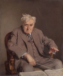Ralph Vaughan Williams  by Sir Gerald Kelly  oil on canvas, 1958-1961  42 in. x 35 in. (1067 mm x 889 mm)  Given by the sitter's widow, (Joan) Ursula Penton Wood Vaughan Williams (née Lock), 1970    © National Portrait Gallery, London