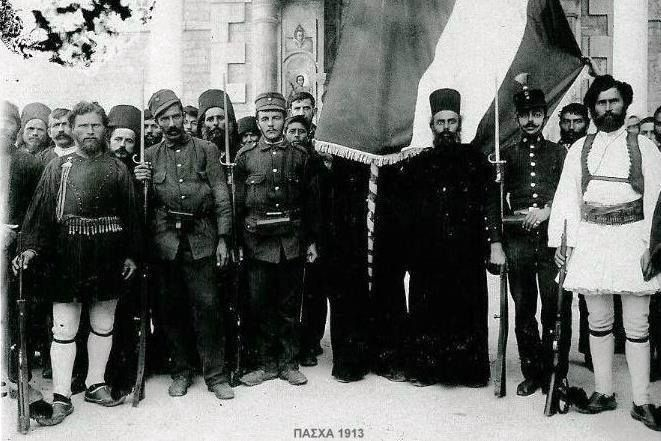 Macedonian Fighters for the Fight to liberate Historical Macedonia during Easter 1913
