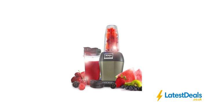 Nutri Ninja 900W Blender & Smoothie Maker at Ninja/ebay, £39.99