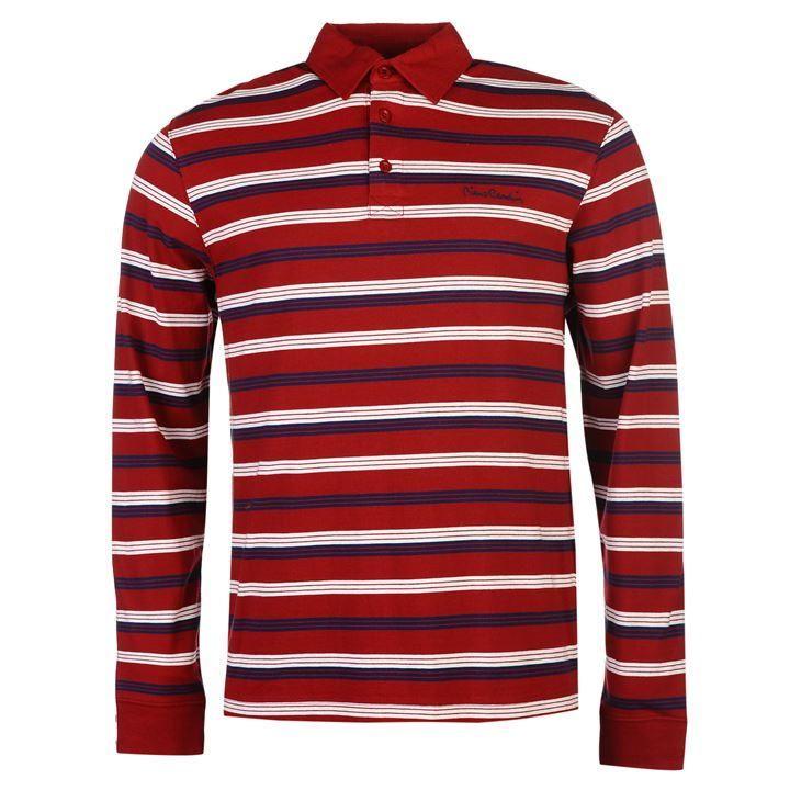 Pierre Cardin | Pierre Cardin Long Sleeve Polo Shirt | Men's Polo Shirts