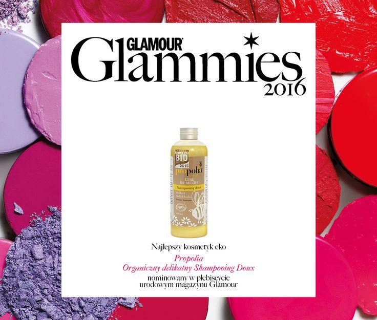 #BeeYes #Propolia #shampon #eco #bio nominowany do #Glammies2016 magazynu #Glamour