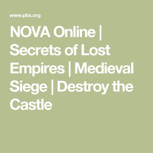 NOVA Online | Secrets of Lost Empires | Medieval Siege | Destroy the Castle