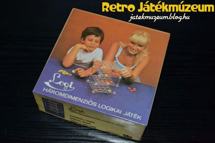 A doboz igazi 80-as évek. Mosolygós anyuka és mosolygós kisfiú játszik egymás ellene a LOGI-val. De mi is az a LOGI?