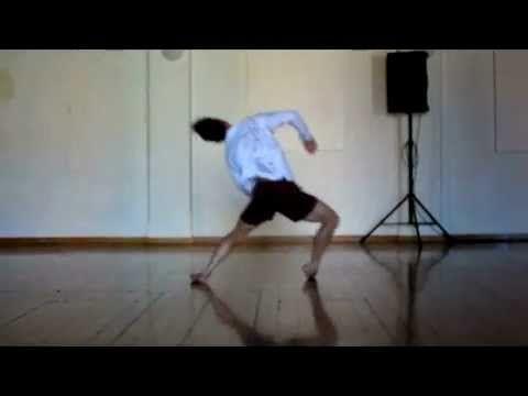 Contemporary Dance Floor Phrase - YouTube